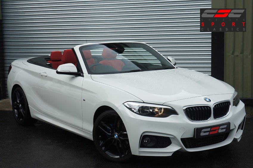 BMW 2 SERIES 218d M Sport 150 Convertible